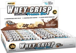 Nahrungsergänzung kaufen - All Stars Whey-Crisp Bar, White Chocolate Cookie Crunch, 24er Pack (24 x 50 g)