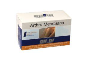 Nahrungsergänzung kaufen - Arthro MensSana | natürliche Vitalstoffe für starke Gelenke, Knorpel und Sehnen | Vitamine + Mikronährstoffe mit hoher Bioverfügbarkeit | gut verträgliche Kapseln